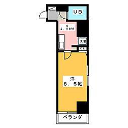高崎レックス鞘町[7階]の間取り