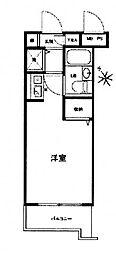 パレドール八王子2[2階]の間取り