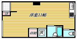 東京都墨田区八広2丁目の賃貸アパートの間取り