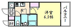 エスプレイス大阪城SOUTH[9階]の間取り