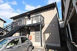 岡山県岡山市北区西崎本町の賃貸アパートの外観