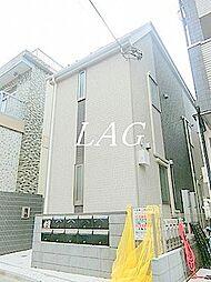 大島参番館アパート[1階]の外観