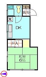 第一大興ビル[3階]の間取り