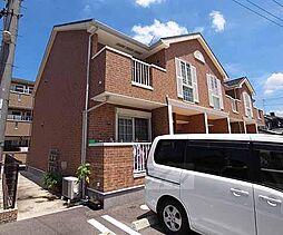 京都府城陽市富野西垣内の賃貸アパートの外観
