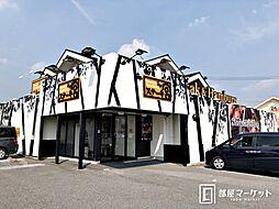 愛知県岡崎市洞町字本郷の賃貸アパートの外観