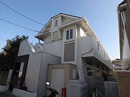 兵庫県姫路市城北新町1丁目の賃貸アパートの外観