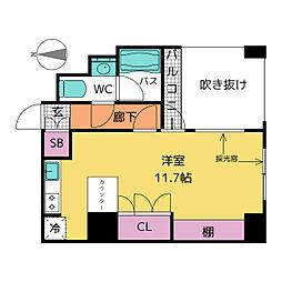 ドゥーエ大須[10階]の間取り