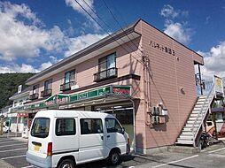 岡山県井原市井原町の賃貸アパートの外観