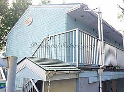 神奈川県藤沢市白旗4丁目の賃貸アパートの外観