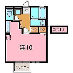 ふらっとTAISHOU[2階]の間取り
