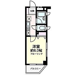 アンビシャス21新川崎[0201号室]の間取り