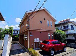 東京都練馬区石神井町1丁目の賃貸アパートの外観