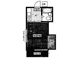 ハイムトムラI[2階]の間取り