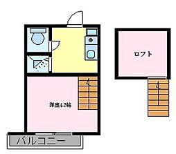 鳳駅 4.2万円