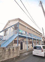 埼玉県朝霞市幸町1丁目の賃貸アパートの外観