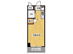 メゾンフローラル[2階]の間取り