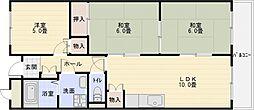 メゾン離宮[4階]の間取り