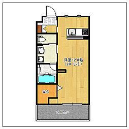 A-style muromi[3階]の間取り