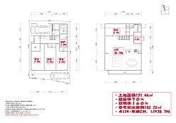 参考プラン/2階建て/4LDK/車庫2台/LDK38.7帖/延床面積182平米