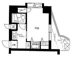 ライオンズマンション仲六郷[6階]の間取り
