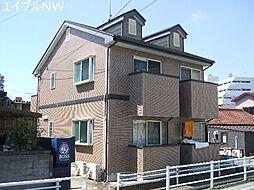 三重県松阪市京町の賃貸アパートの外観