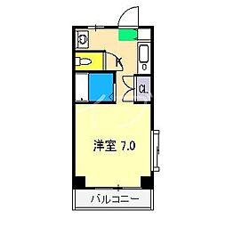 スプリングハウス[3階]の間取り