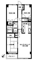 メイツ新桜台[5階]の間取り