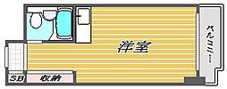 パレ・ドール文京メトロプラザ[10階]の間取り