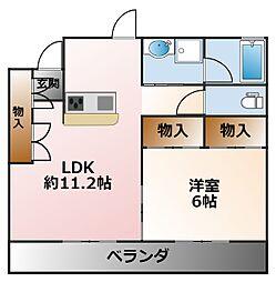 [タウンハウス] 兵庫県西宮市甲子園一番町 の賃貸【兵庫県 / 西宮市】の間取り