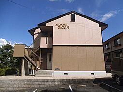 奈良県奈良市朱雀1丁目の賃貸アパートの外観