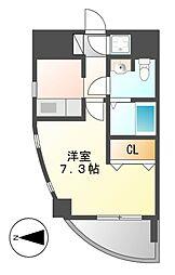HILL HOUSE3 (ヒルハウス)[3階]の間取り