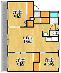 PRISM Eniwa 002[401号室]の間取り
