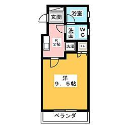 フレンズコート静岡[3階]の間取り