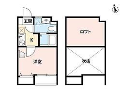 Sol箱崎(ソルハコザキ)[1階]の間取り