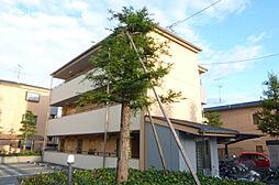 大阪府箕面市粟生間谷西7丁目の賃貸マンションの外観