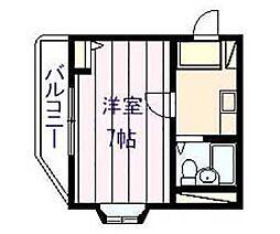 清州八幸ビル[2階]の間取り