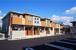 滋賀県東近江市五個荘小幡町の賃貸アパートの外観