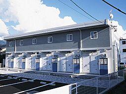 長野県松本市出川3丁目の賃貸アパートの外観