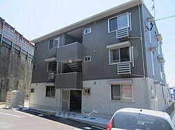 福岡県北九州市八幡東区諏訪2丁目の賃貸アパートの外観