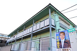 東京都板橋区高島平4丁目の賃貸アパートの外観