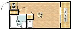 朝日プラザ天王寺西パサージュ[4階]の間取り
