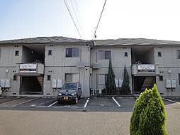 愛媛県松山市居相6丁目の賃貸アパートの外観