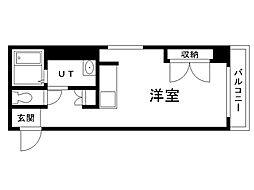 北海道札幌市北区北三十三条西3丁目の賃貸マンションの間取り