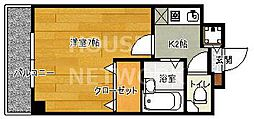 アーバン衣笠[306号室号室]の間取り