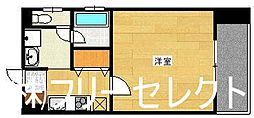 福岡県福岡市博多区博多駅前4丁目の賃貸マンションの間取り