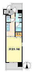 CASTELLO LUSSO[3階]の間取り
