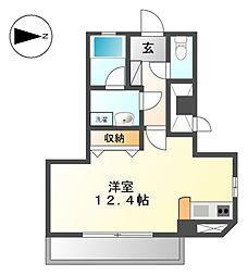 シャトレ[2階]の間取り