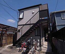 京都府京都市伏見区桃山町東町の賃貸アパートの外観