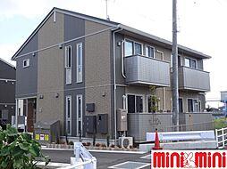 佐賀県佐賀市巨勢町大字牛島の賃貸アパートの外観