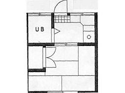 ハイツ宿河原[1階]の間取り